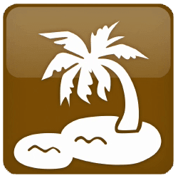 Trophy Icon for Beach Bum