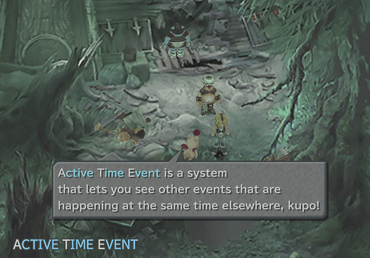 The Active Time Event system introduction
