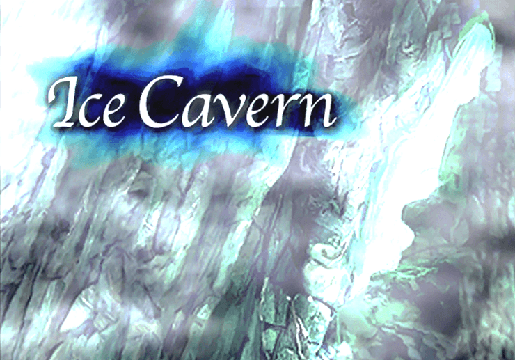 Ice Cavern Naming Screen
