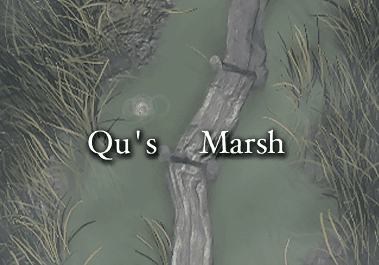 Qu's Marsh Title Screen