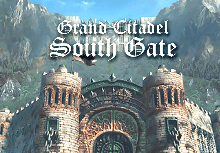 Grand Citadel South Gate Title Screen