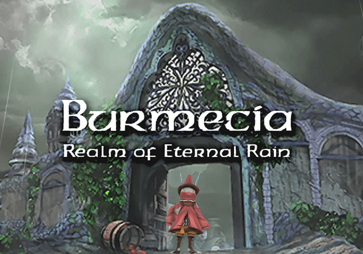 Burmecia, Realm of Eternal Rain Title Screen