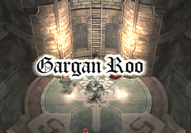 Gargan Roo Title Screen