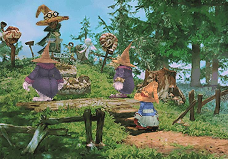 Final Fantasy IX Walkthrough: Black Mage Forest - Jegged com