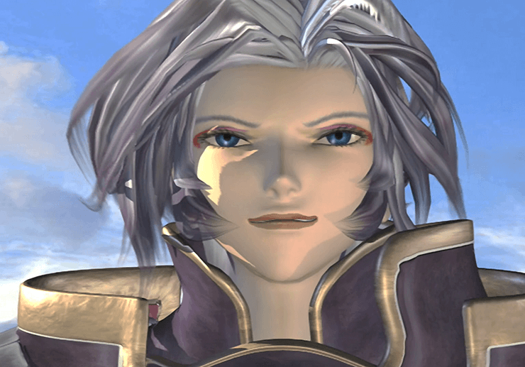Kuja during the final cinematic of Disc 2