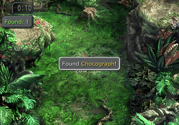 Finding a Chocograph in the Chocobo's Forest