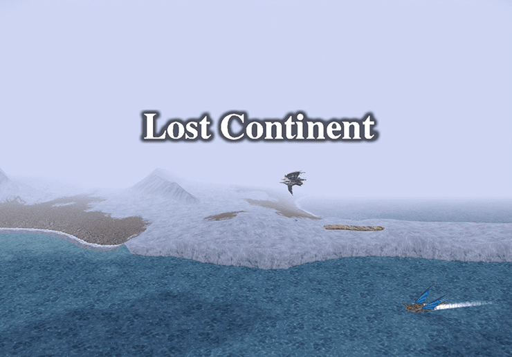 Lost Continent Title Screen