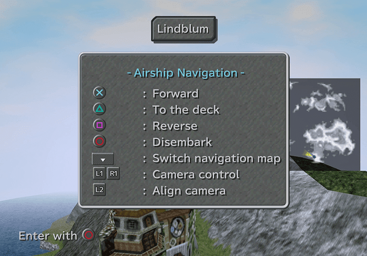Airship Navigation instructions