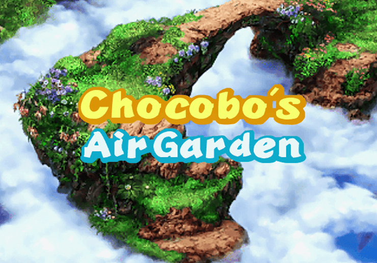 Chocobo's Air Garden Title Screen