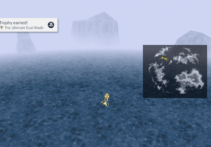Chocobo Dive Spot #4 - Ultima Weapon