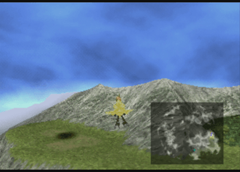 Chocobo Air Garden shadow location