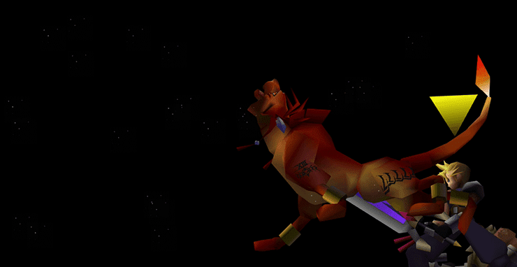 Red XIII using Stardust Ray