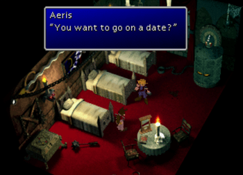 Aeris joining Cloud for a date