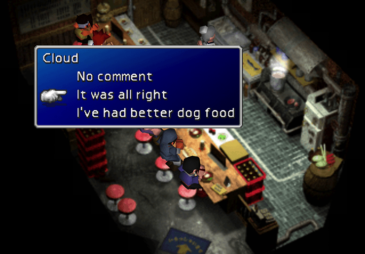 Final Fantasy VII Walkthrough: Wall Market - Jegged com