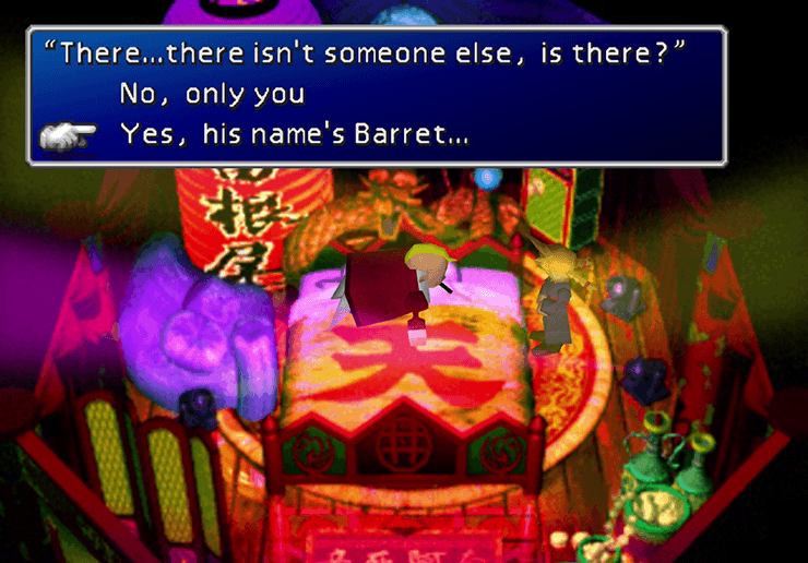 Yes, and his names Barret