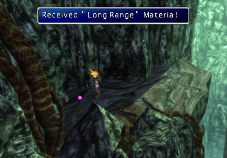 Long Range Materia in the Mythril Mine