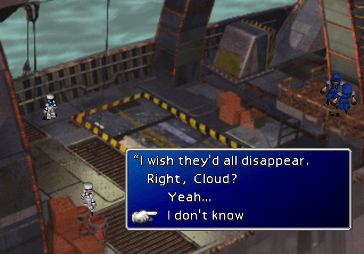 Tifa: I dont know