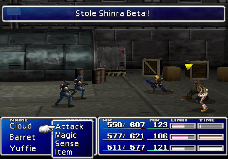 Stealing a Shinra Beta from a Marine