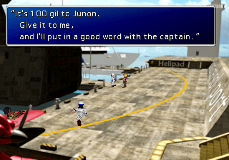 Traveling from the Costa del Sol Harbor back to Junon