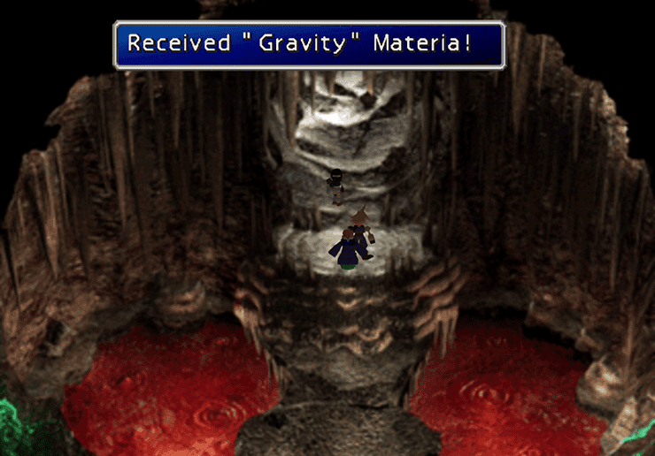 Gravity Materia in the Cave of the Gi