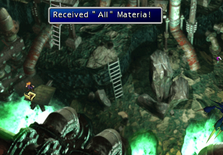 Picking up the All Materia