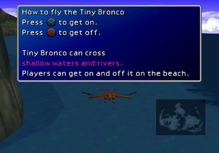 Tiny Bronco from the World Map