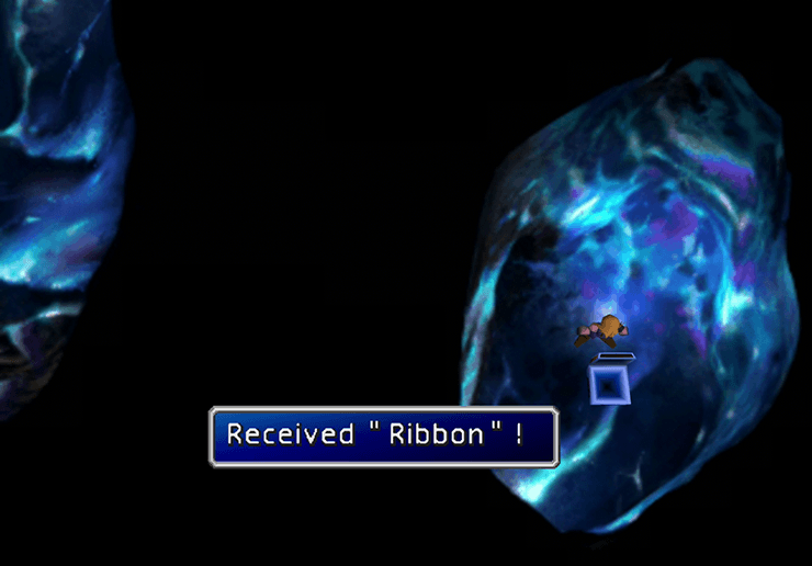 Secret Ribbon room in Gaeas Cliff