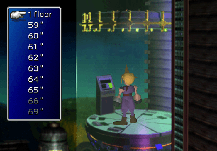 Cloud in the elevator