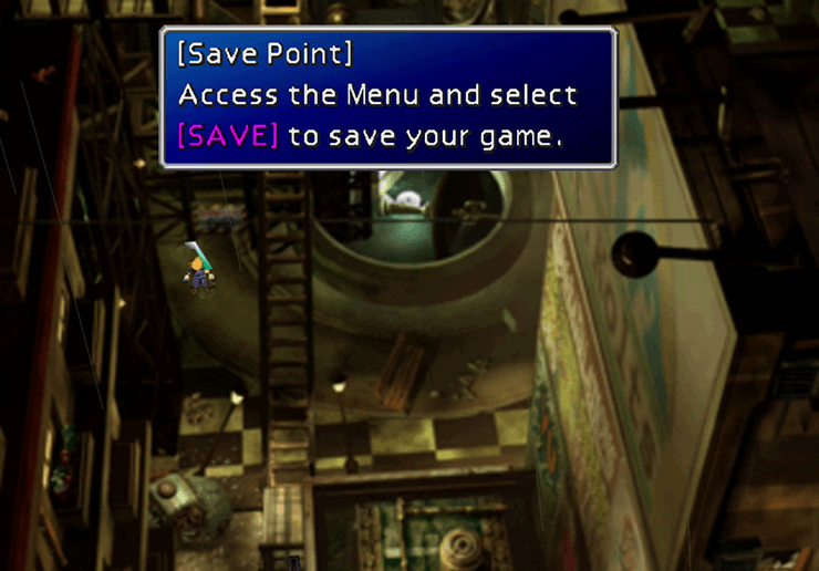 Using the Save Point and switching Barret in