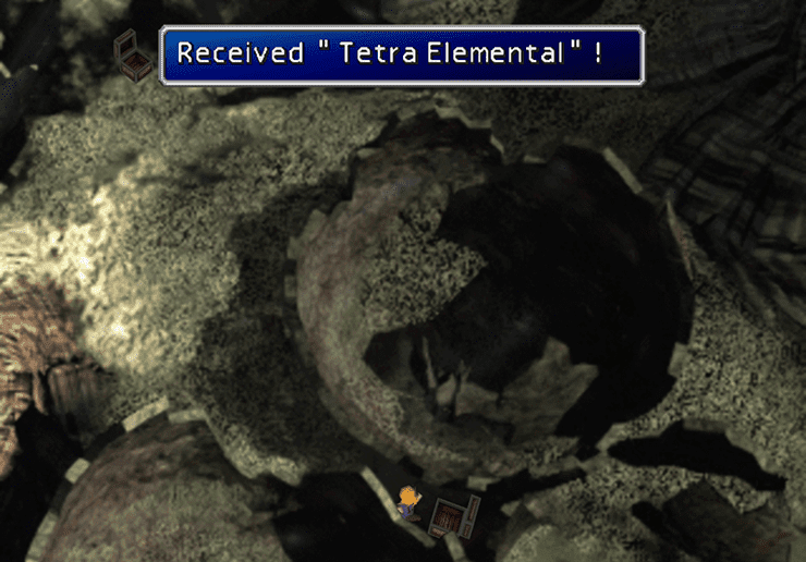 Obtaining a Tetra Elemental in the Northern Cave