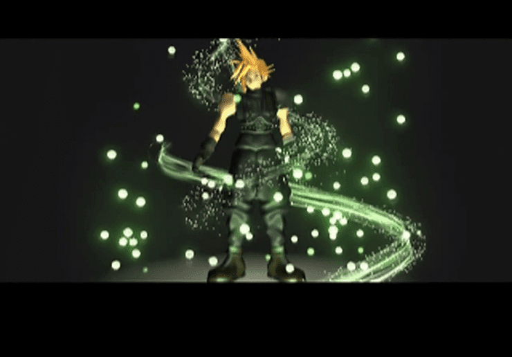 Cloud during the final video