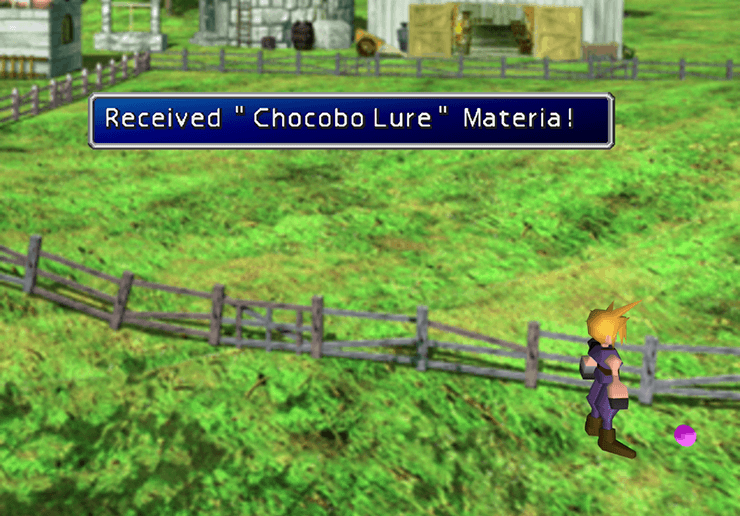 Second Chocobo Lure Materia
