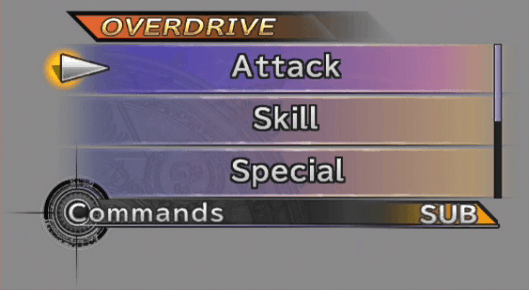 Overdrive option available for use