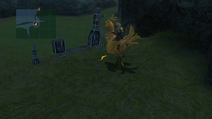 Chocobo Feather in the Calm Lands