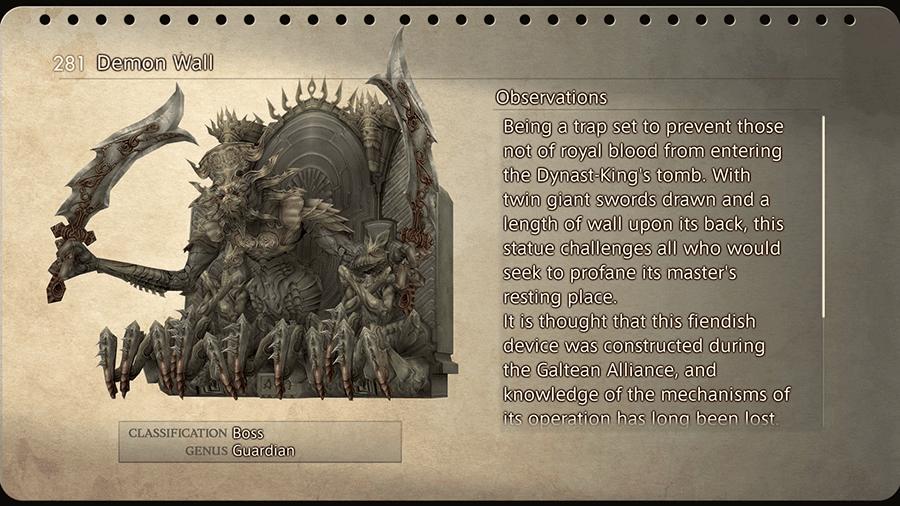 Demon Wall Ff12