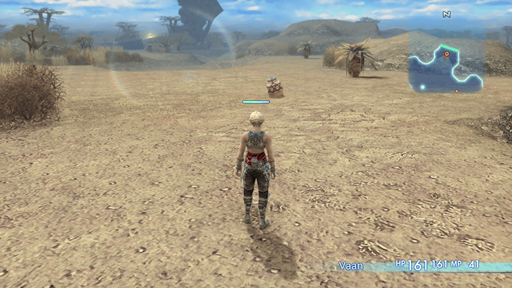 Vaan entering the Giza Plains