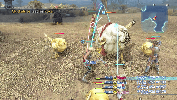 Battle against Cluckatrice during Hunt 33