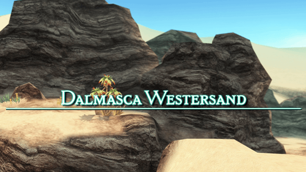 Title Screen for the Dalmasca Westersand