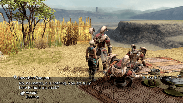 Speaking to Low-chief Sugumu in the Lull of the Land Area of Jahara, the petitioner for Hunt 10