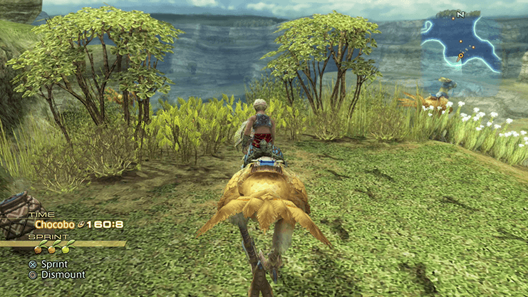 Traveling across the Chocobo Tracks in the Field of Light Winds