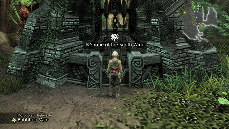 Shrine of the South Wind - Mosphoran Highwaste