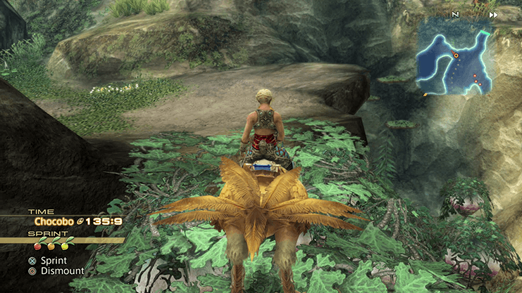 Riding the Chocobo through the Empyrean Way in the Mosphoran Highwaste