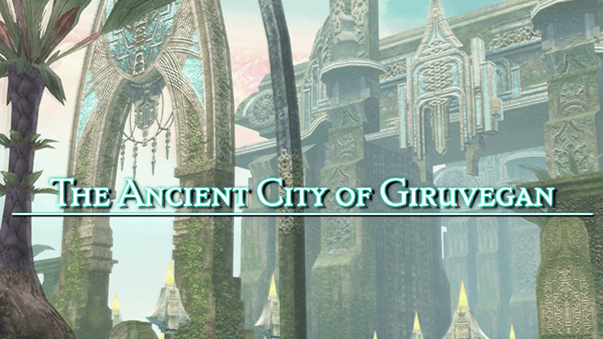 Ancient City of Giruvegan Title Screen