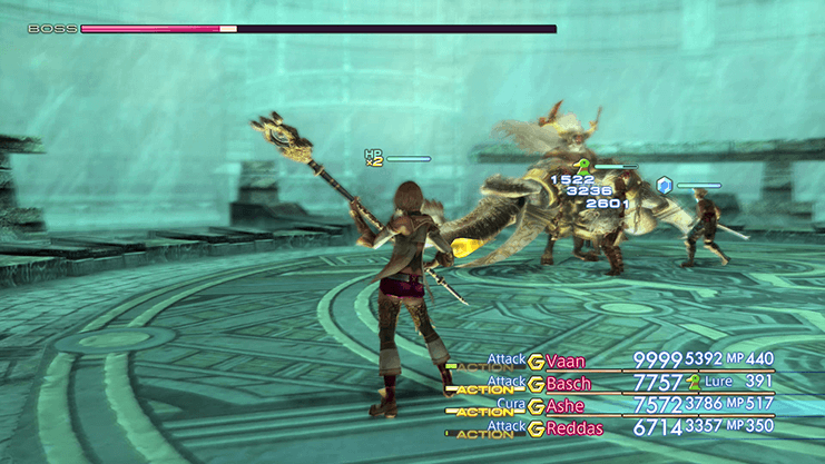 Ashe as she does battle against Hashmal in the Pharos