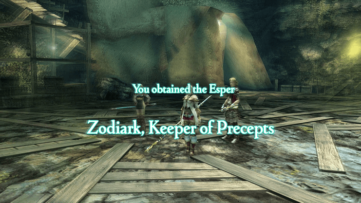 You obtained the Esper: Zodiark, Keeper of Precepts