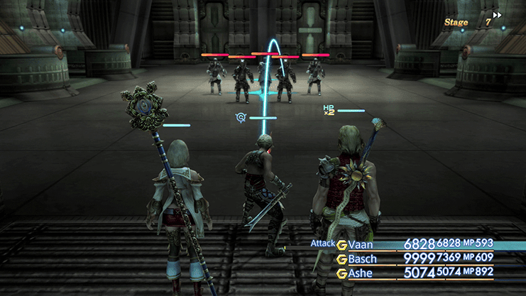 Battle against Judges and Imperials during Trial Mode Stage 7
