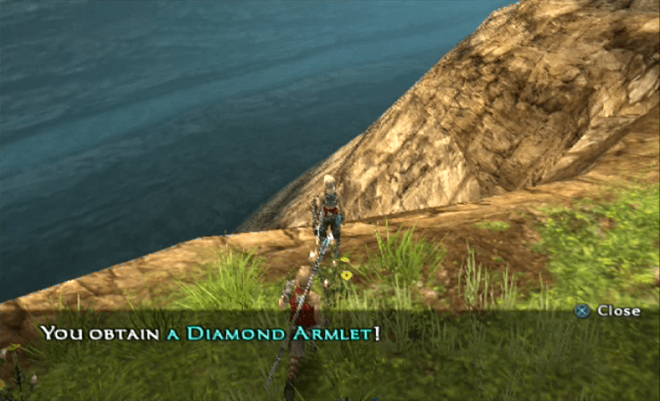 Obtaining a Diamond Armlet in the Tchita Uplands