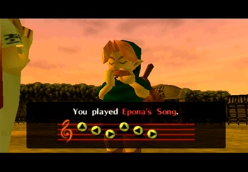 Learning Epona's Song