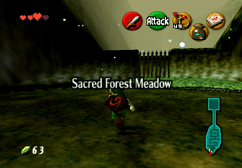 Entering the Sacred Forest Meadow