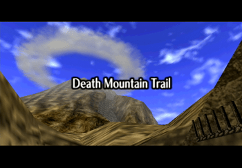 The Death Mountain Trail Title Screen